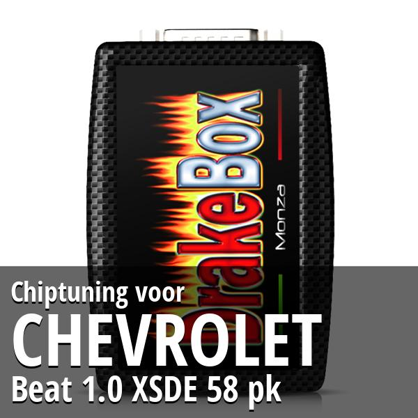Chiptuning Chevrolet Beat 1.0 XSDE 58 pk