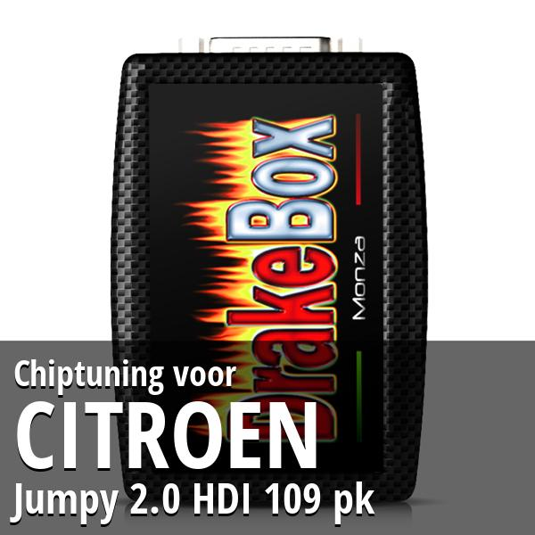 Chiptuning Citroen Jumpy 2.0 HDI 109 pk