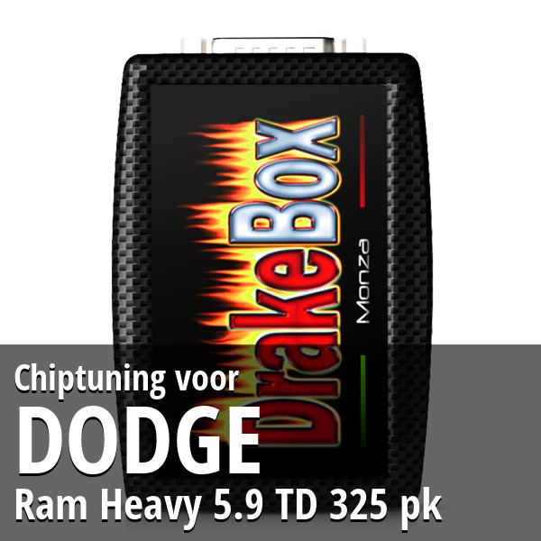 Chiptuning Dodge Ram Heavy 5.9 TD 325 pk