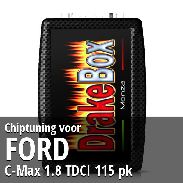 Chiptuning Ford C-Max 1.8 TDCI 115 pk