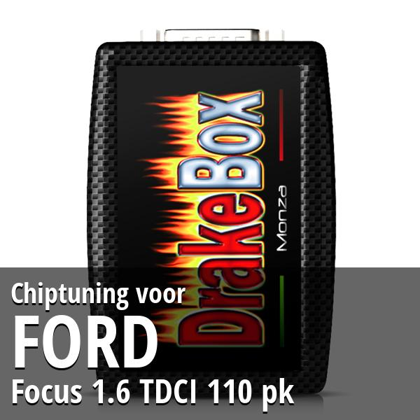 Chiptuning Ford Focus 1.6 TDCI 110 pk