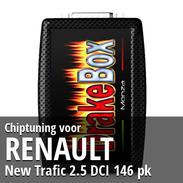 Chiptuning Renault New Trafic 2.5 DCI 146 pk