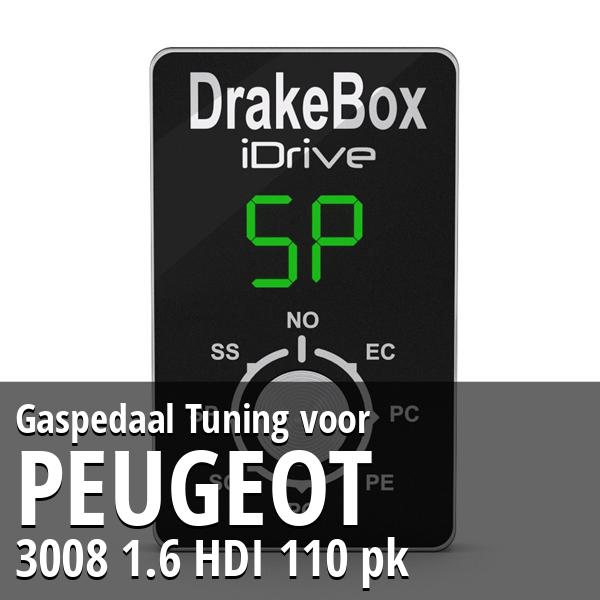 Gaspedaal Tuning Peugeot 3008 1.6 HDI 110 pk