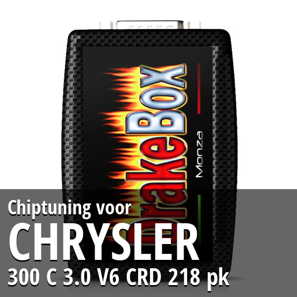 Chiptuning Chrysler 300 C 3.0 V6 CRD 218 pk
