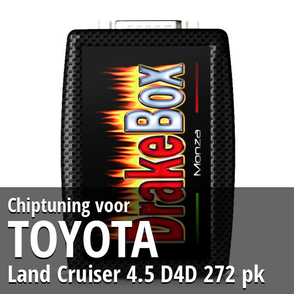 Chiptuning Toyota Land Cruiser 4.5 D4D 272 pk